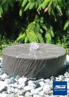 Gartenbrunnen Juist Mühlstein