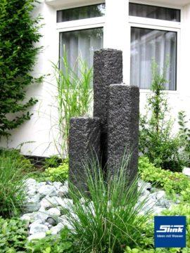 Gartenbrunnen Drei-Säulenanlage I