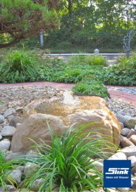 Gartenbrunnen Quellstein Findling 907/K