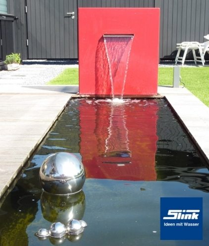 Wasserobjekt Wasserfall-Stele Belle