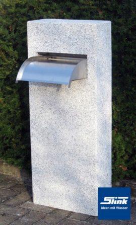 Wasserobjekt Wasserfall-Säule Granit
