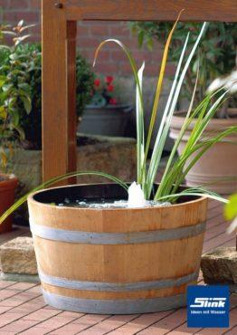 Wasserspiel Fass-Biotop