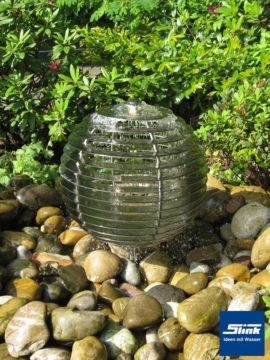 Edelstahl-Wasserobjekt Harmonie