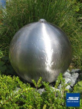 Springbrunnen Edelstahlkugel Globus-Fountain