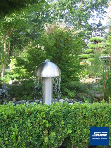 Springbrunnen Edelstahl-Wasserobjekt Toronto