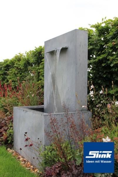 Gartenbrunnen zinkart wall slink ideen mit wasser - Garten wandbrunnen ...