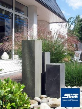 Wasserobjekt Zinkart-Säulen