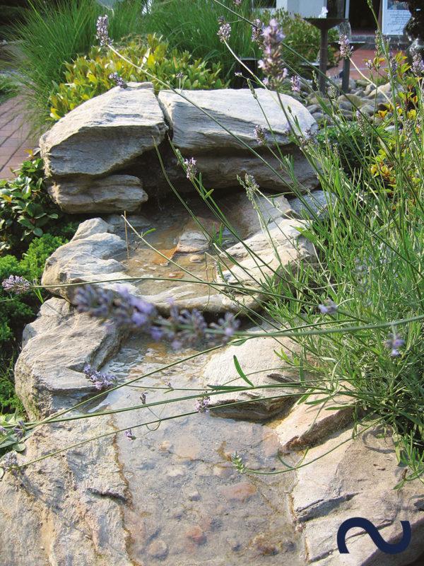 Bachlaufserie Schieferquell Teichlauf Wasserlauf Garten GFK DIY einfach