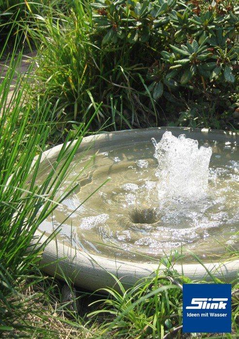 Springbrunnen Fontänenschale Solo