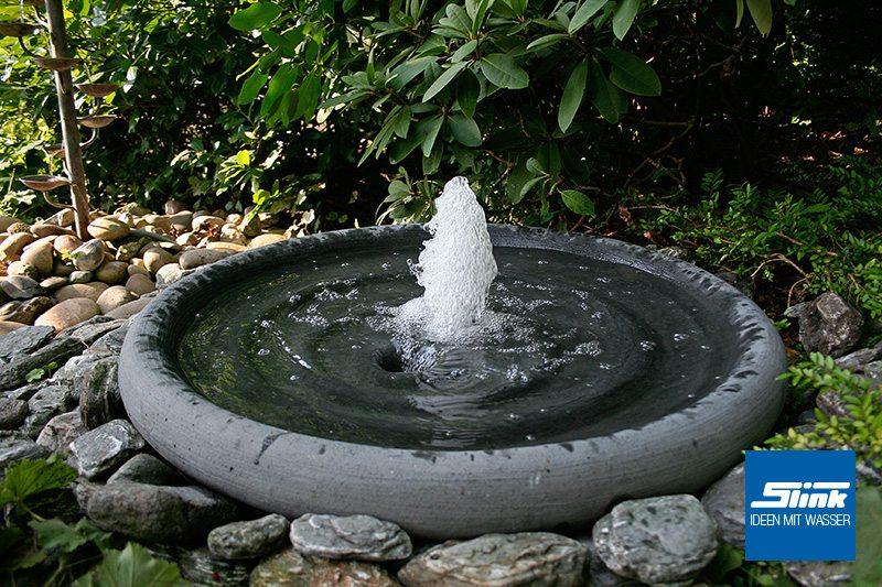 Gartenspringbrunnen Fontänenschale Solo