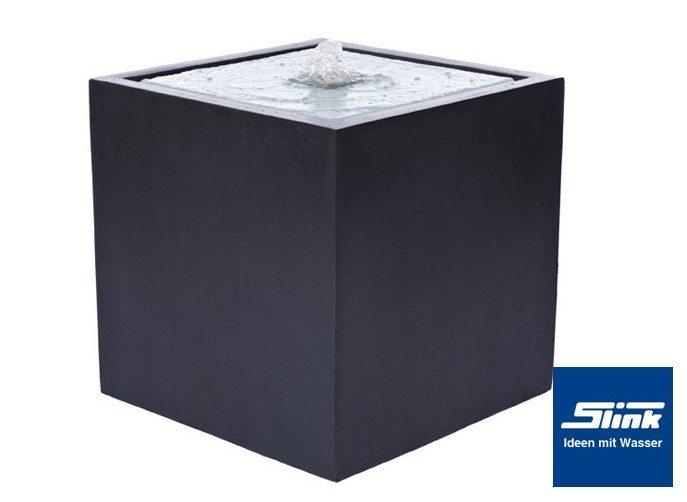 komplettbrunnen lumen quader slink ideen mit wasser. Black Bedroom Furniture Sets. Home Design Ideas