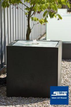 Komplettbrunnen Lumen-Quader