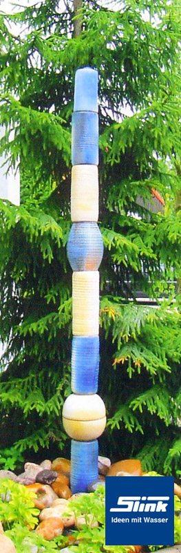 Keramik wasserobjekt einzels ule slink ideen mit wasser - Gartenbrunnen keramik ...
