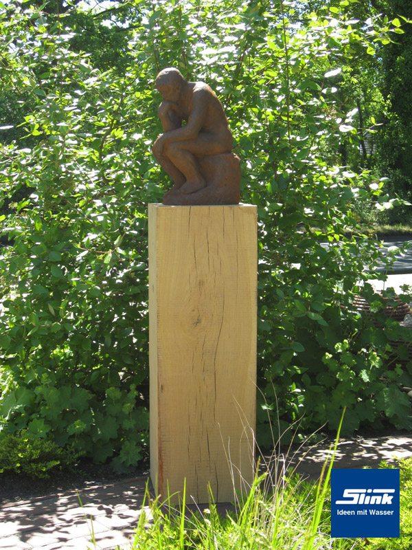 Skulptur Dante -Der Denker-