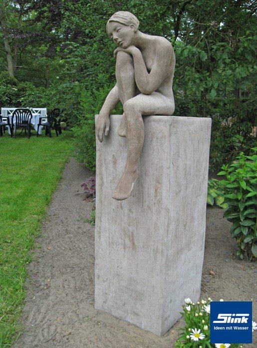 Skulptur Theresa -Terracotta aus Impruneta Ton-