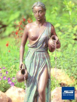 Bronzefigur Kassandra I wasserspeiend