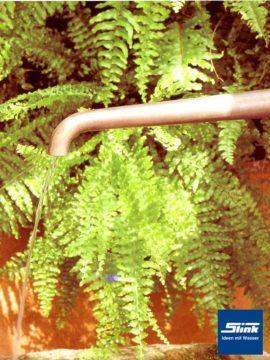 Wasserauslauf Bronze