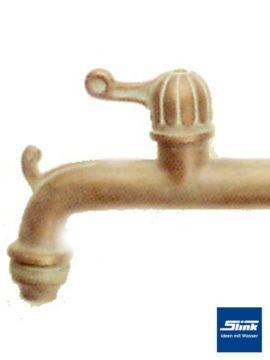 Wasserauslauf-Hahn Bronze