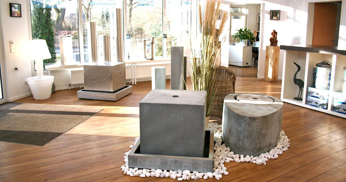 Springbrunnen Ausstellung Indoor ZImmerbrunnen