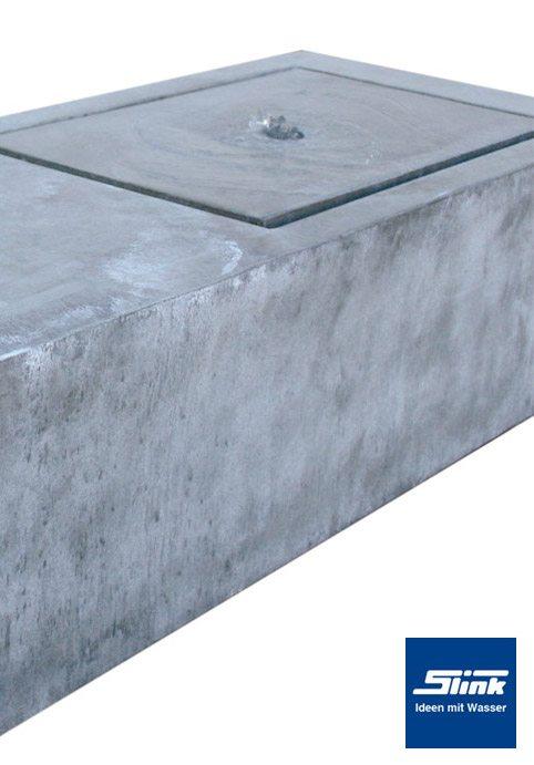 Gartenbrunnen Springbrunnen Zinkart Bank Slink Ideen Mit Wasser