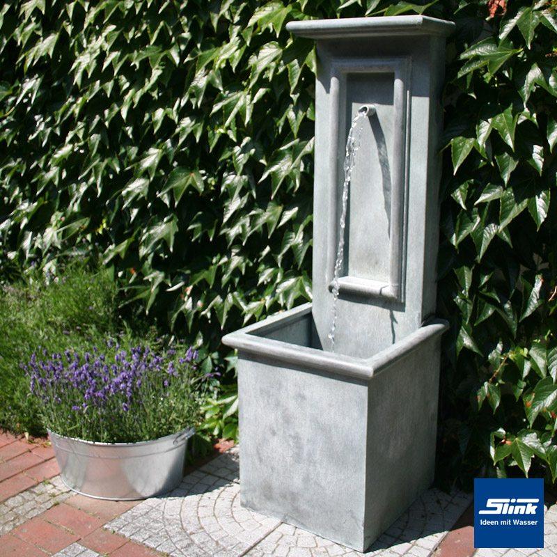 wandbrunnen wasserfall wand zinkart antik slink ideen. Black Bedroom Furniture Sets. Home Design Ideas
