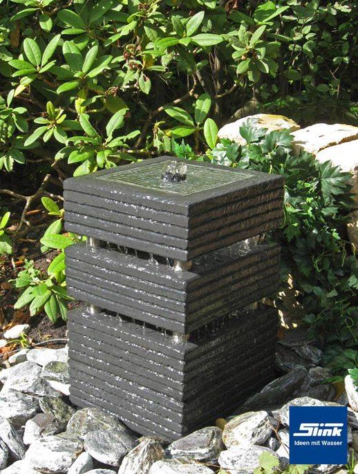 gartenbrunnen springbrunnen kreativ-quader 30 - slink   ideen mit, Hause und Garten