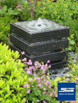Gartenbrunnen Springbrunnen Kreativ-Quader 50