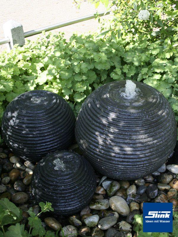 springbrunnen kugelbrunnen formkugel 60 slink ideen mit wasser. Black Bedroom Furniture Sets. Home Design Ideas