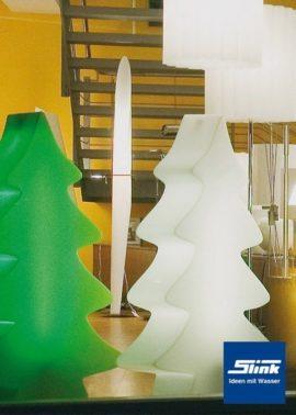Beleuchtung Leucht-Tannenbaum Maxi weiß 115 cm