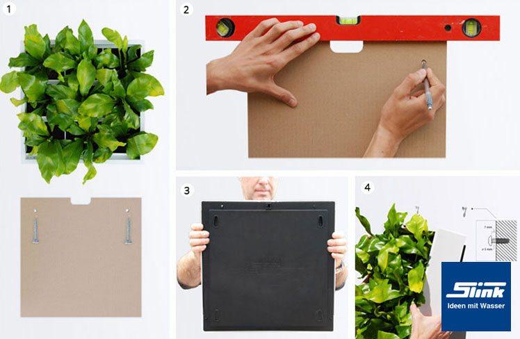 Wandbegrünung karoo wandbegrünung indoor und outdoor grau slink ideen mit wasser