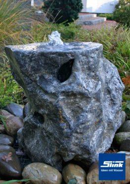 Gartenbrunnen Springbrunnen Ozeanfindling -Unikat-