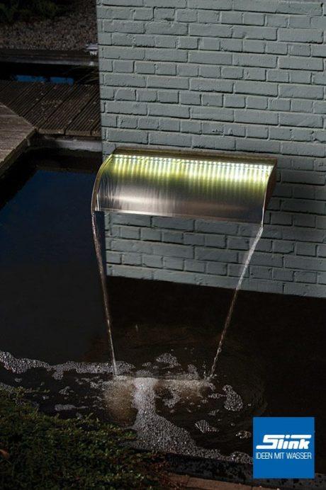 LED-Wasserfall Garten