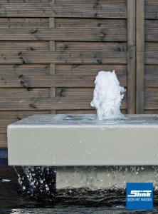 Aluminium-Gartenbrunnen Alumento 60