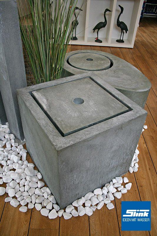 Gartenspringbrunnen Zimmerbrunnen Zink