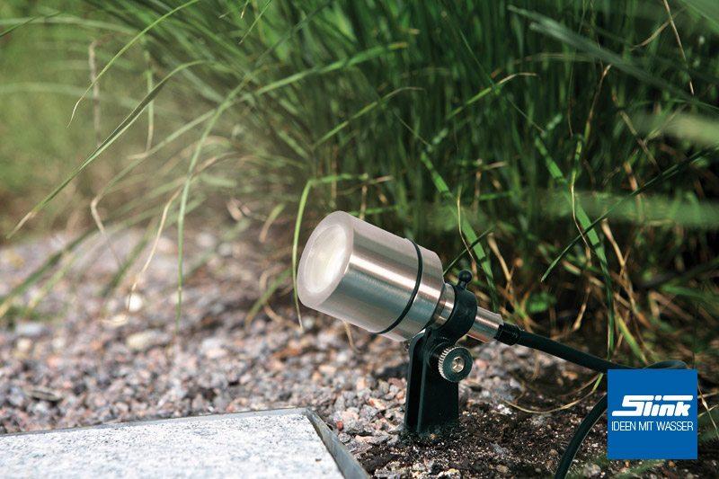 Led Spot Garten ~ Led spot trio garten und teichbeleuchtung slink ideen mit wasser