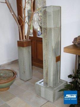 Keramik-Zimmerbrunnen Vierkantkeramik Indoor
