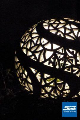 Keramik-Lichtkugel
