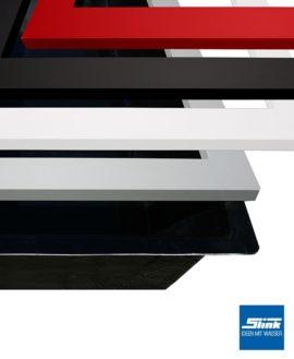 Beckenrandabdeckung Aluminium für GFK-Wasserbecken 200 x 100 x 40 cm