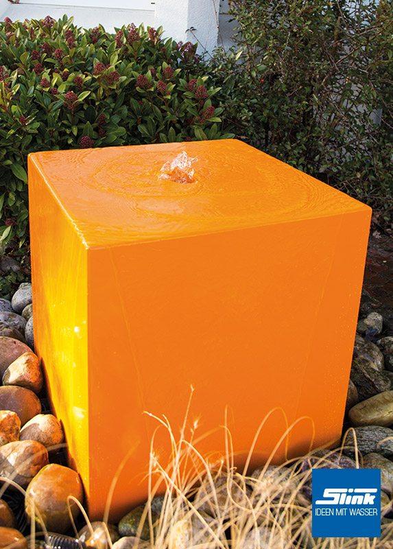 wasserobjekt aluminium quader 60 - slink   ideen mit wasser, Hause und Garten