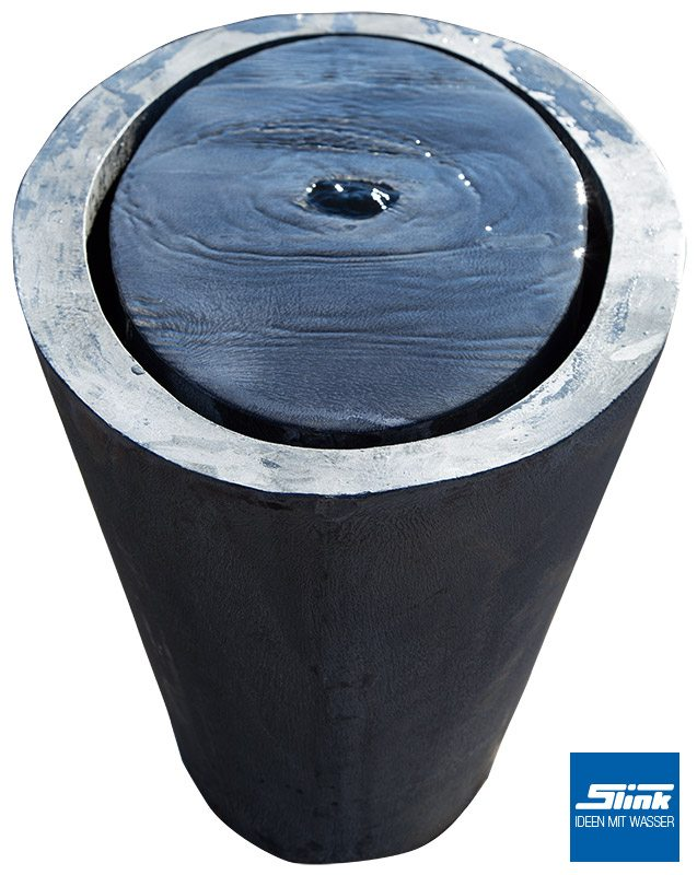 Wasserobjekt Zinkart-Wassertisch oval