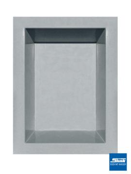 GFK-Teichbecken 180 x 130 x 52 cm – hellgrau