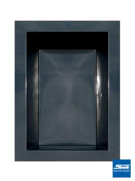 GFK-Teichbecken 180 x 130 x 52 cm – schwarz
