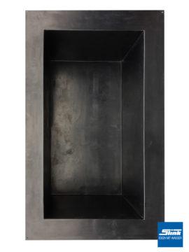GFK-Teichbecken Wasserbecken rechteckig 307 x 180 x 130 cm – schwarz