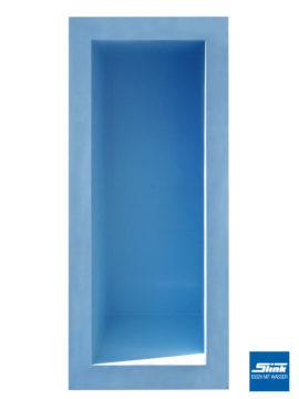 GFK-Teichbecken Wasserbecken rechteckig 460 x 200 x 130 cm – hellblau