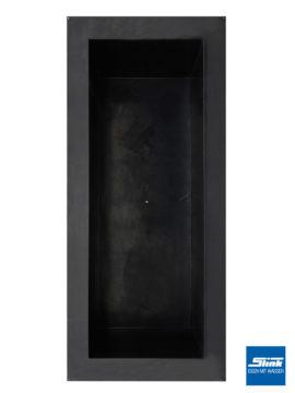 GFK-Teichbecken Wasserbecken rechteckig 460 x 200 x 130 cm – schwarz