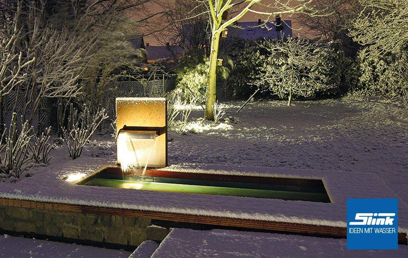 Edelstahl teichbecken rechteckig  GFK-Teichbecken Wasserbecken rechteckig 300 x 100 x 40 cm 950 ...