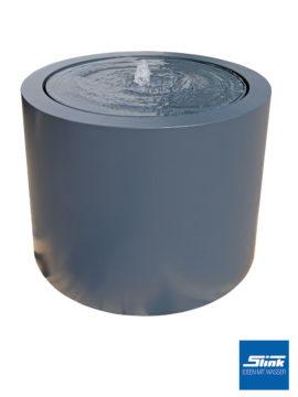 Springbrunnen Aluminium-Rundtisch