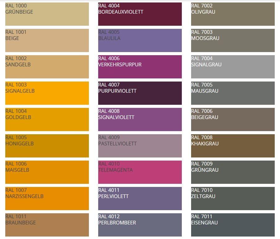farbe schlamm ral neuheiten ganz im zeichen der farbe slink ideen mit wasser tisch esbar. Black Bedroom Furniture Sets. Home Design Ideas