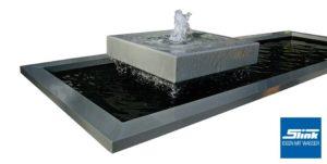 Moderner_gartenbrunnen_Springbrunnen_Beckenrandabdeckung_GFK-Wasserbecken_Teichbecken