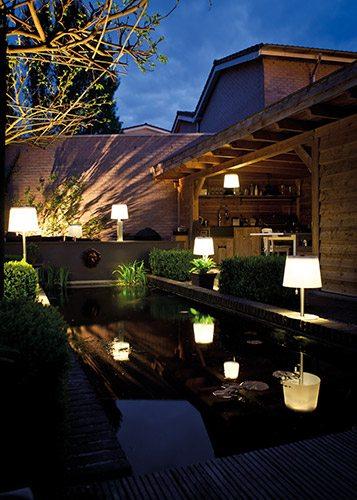 Lasolar LED-Solarleuchte draussen outdoor design Lampe Solar